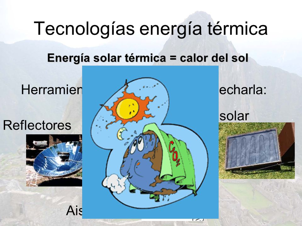 Tecnologías energía térmica