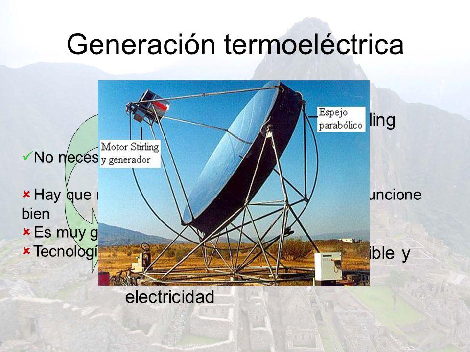 Generación termoeléctrica