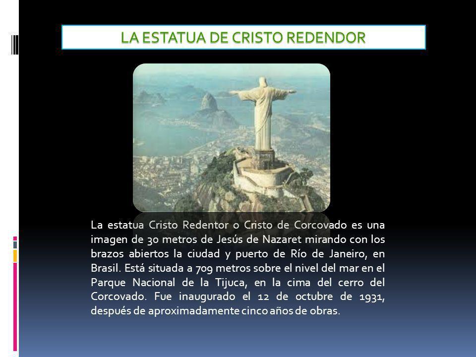 LA ESTATUA DE CRISTO REDENDOR