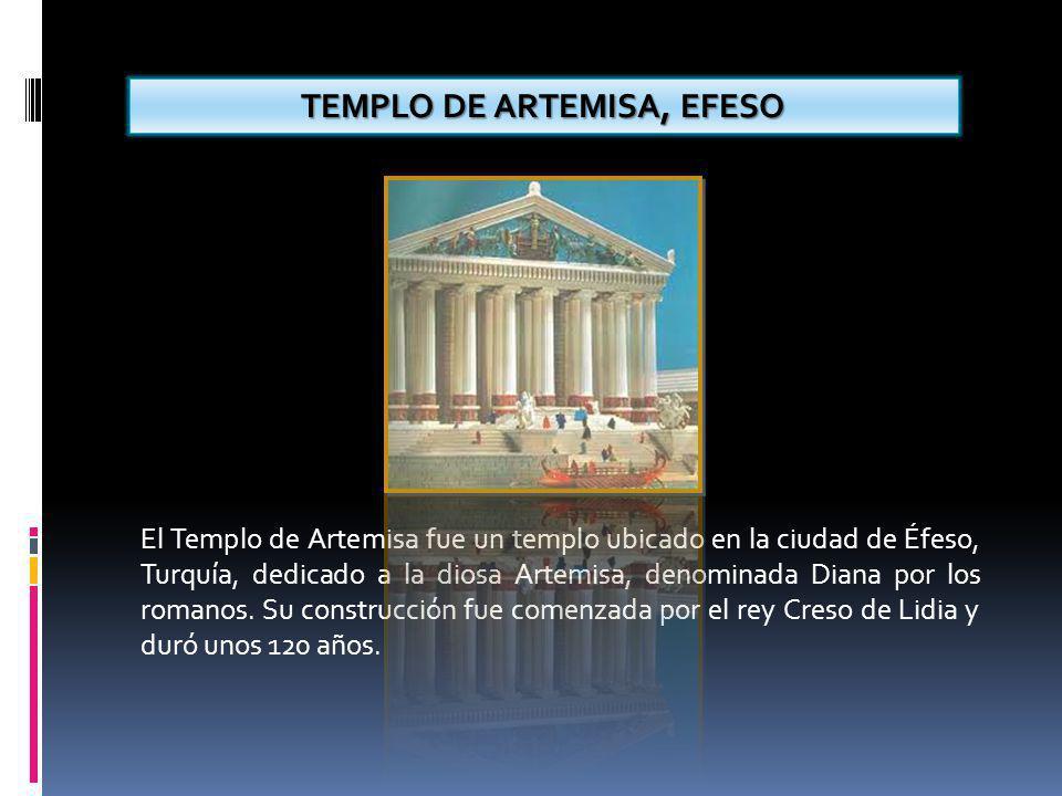 TEMPLO DE ARTEMISA, EFESO