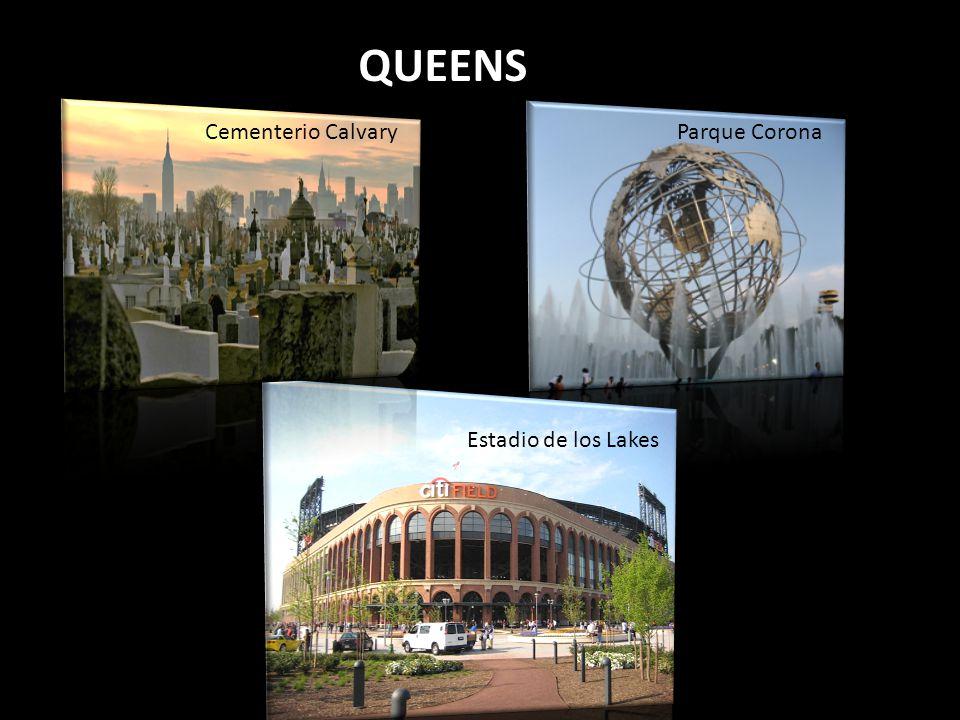 QUEENS Cementerio Calvary Parque Corona Estadio de los Lakes