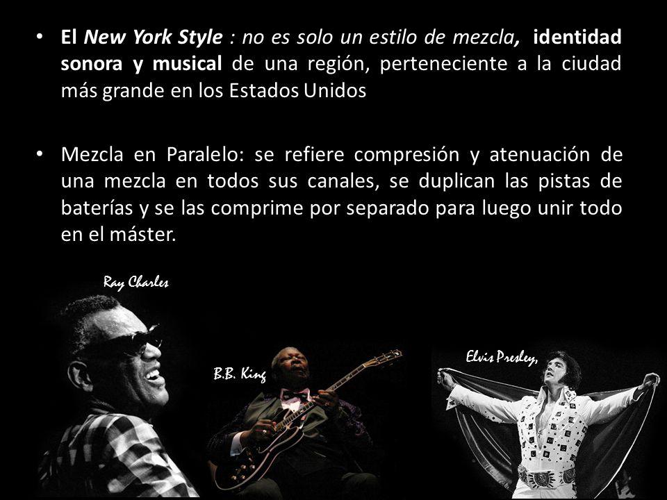 El New York Style : no es solo un estilo de mezcla, identidad sonora y musical de una región, perteneciente a la ciudad más grande en los Estados Unidos