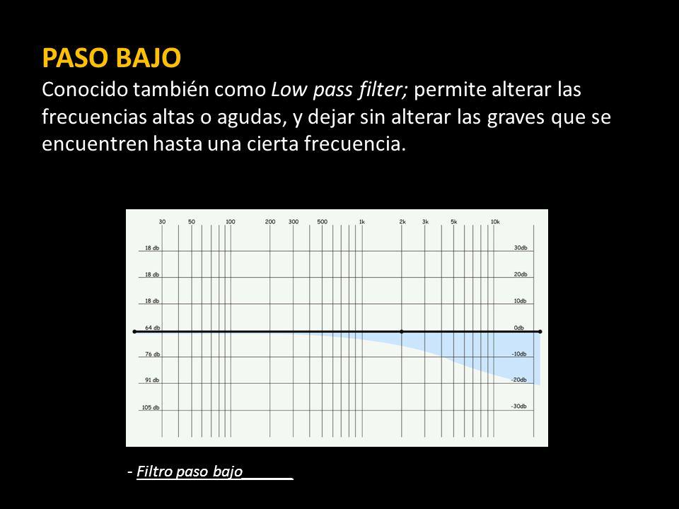 PASO Bajo