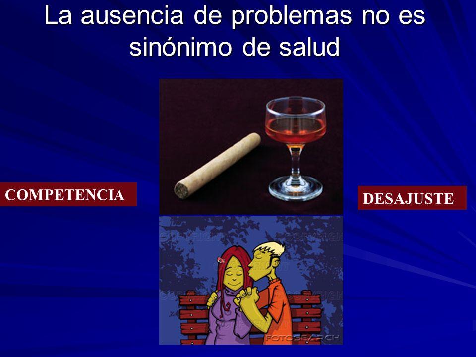 La ausencia de problemas no es sinónimo de salud