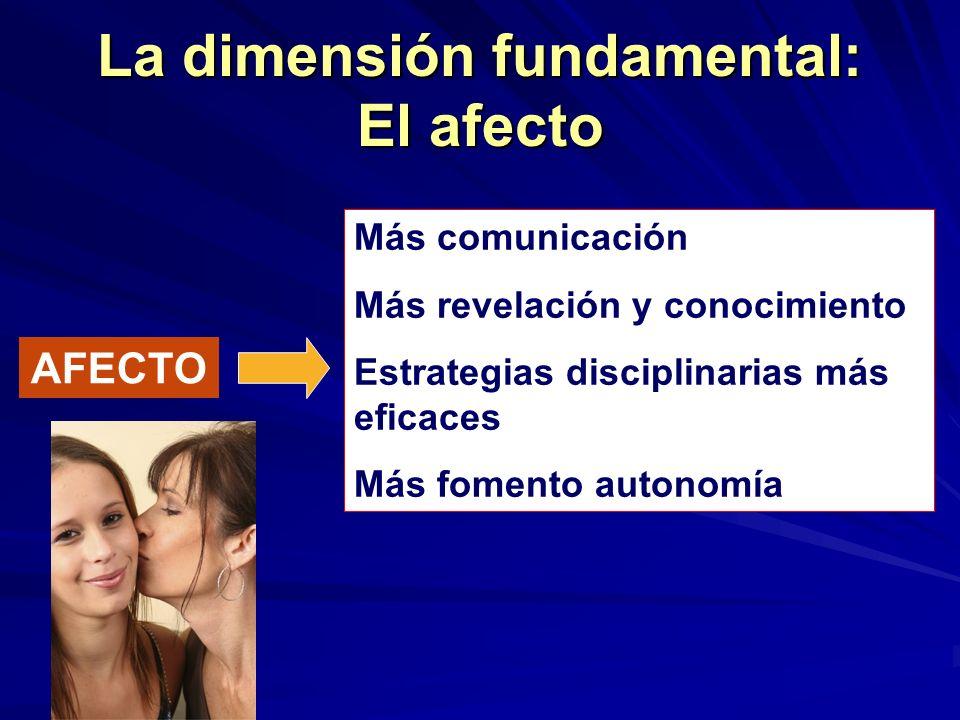La dimensión fundamental: El afecto