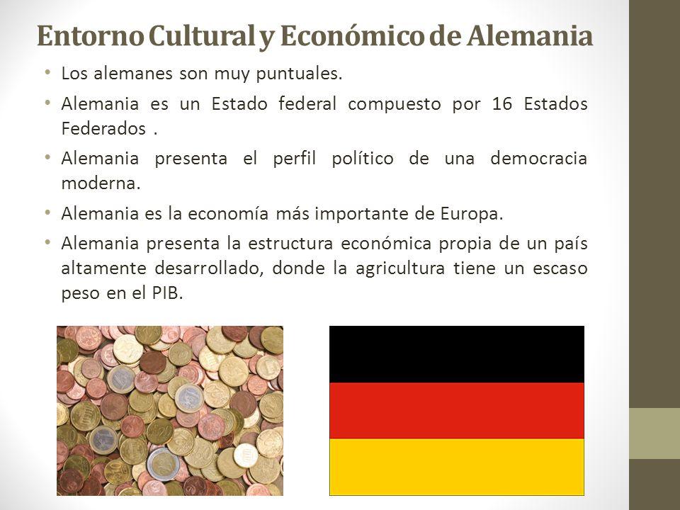 Entorno Cultural y Económico de Alemania