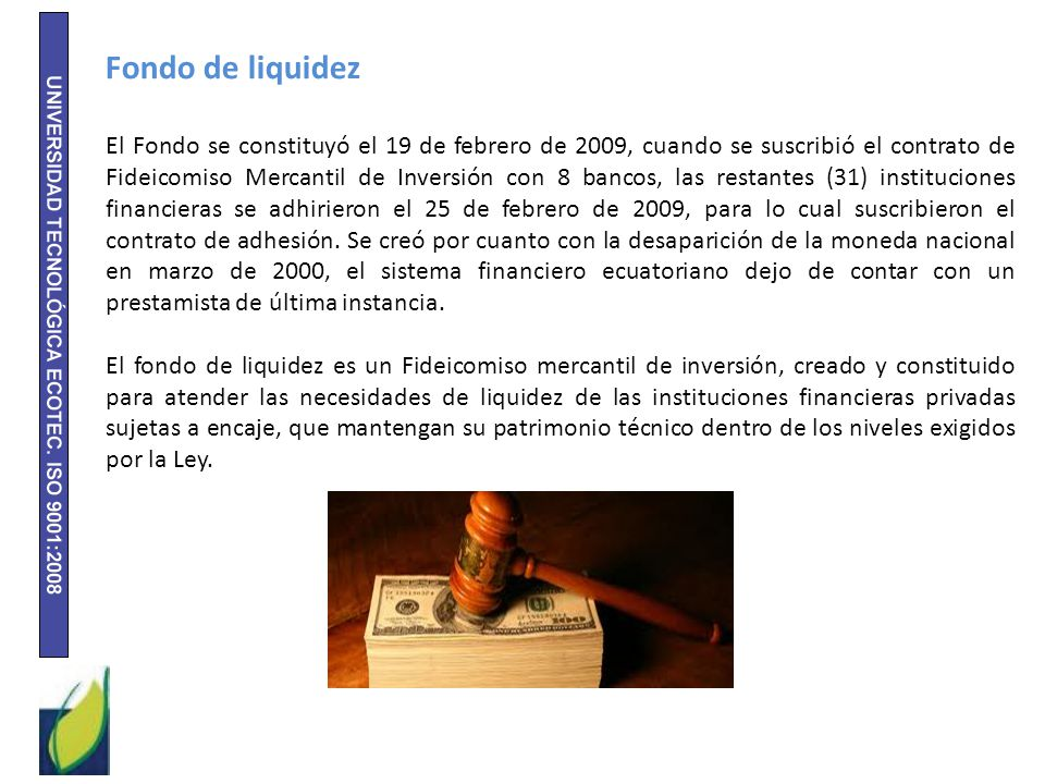 Fondo de liquidez