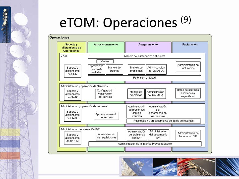 eTOM: Operaciones (9)
