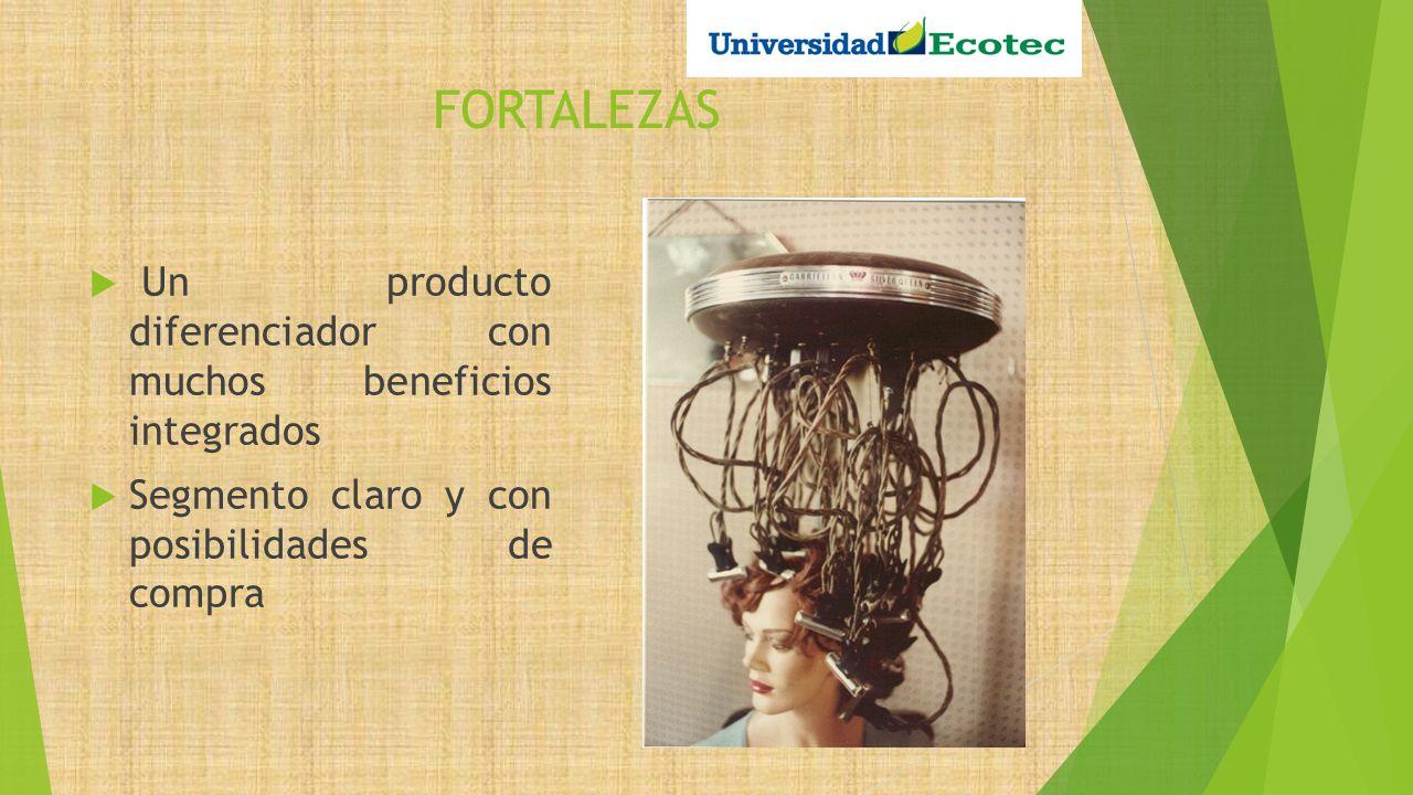 FORTALEZAS Un producto diferenciador con muchos beneficios integrados