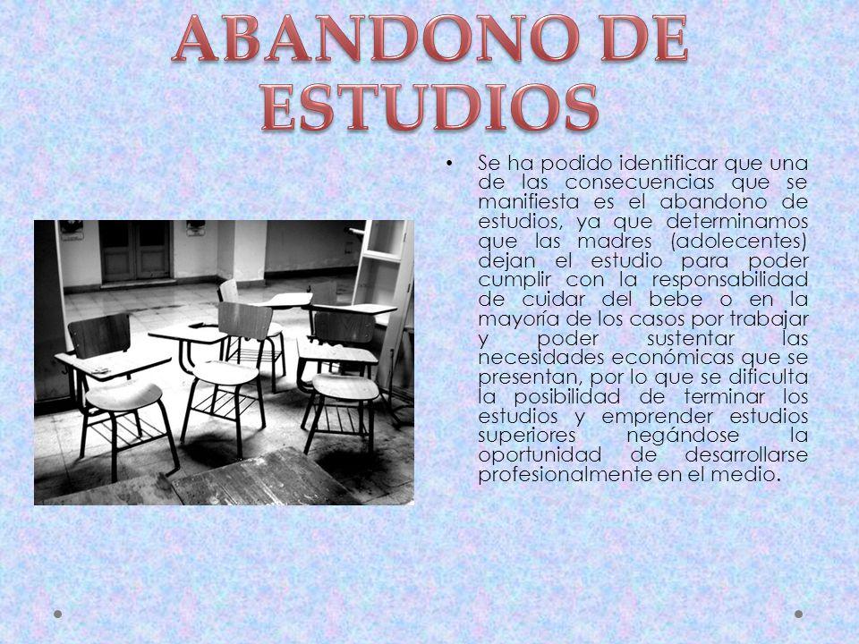 ABANDONO DE ESTUDIOS