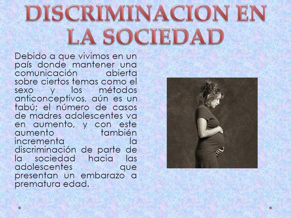 DISCRIMINACION EN LA SOCIEDAD