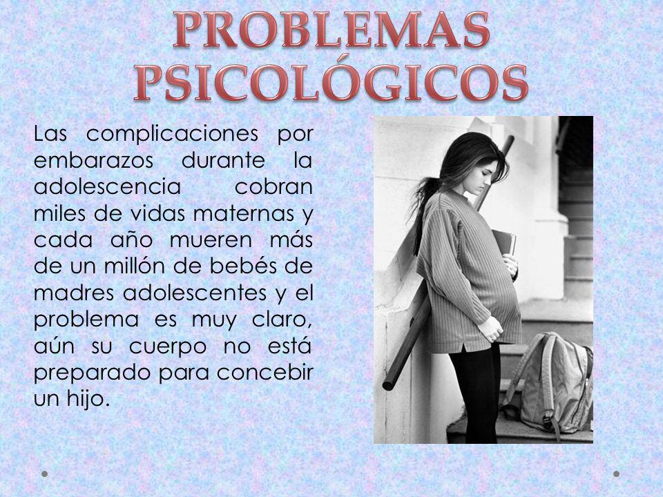 PROBLEMAS PSICOLÓGICOS