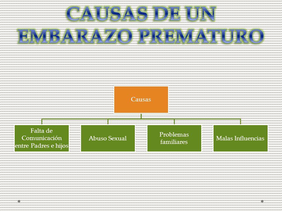 CAUSAS DE UN EMBARAZO PREMATURO