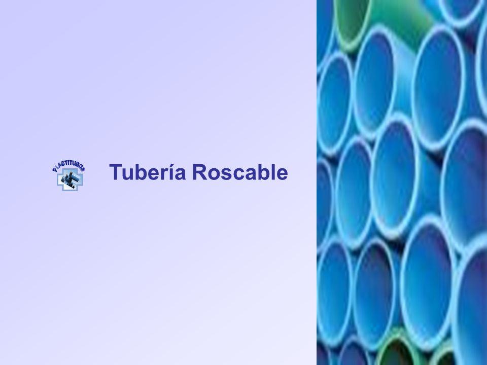Tubería Roscable PLASTITUBOS