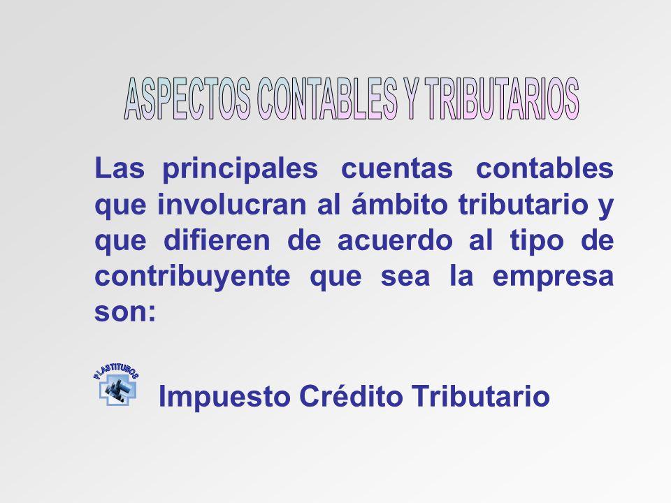 ASPECTOS CONTABLES Y TRIBUTARIOS