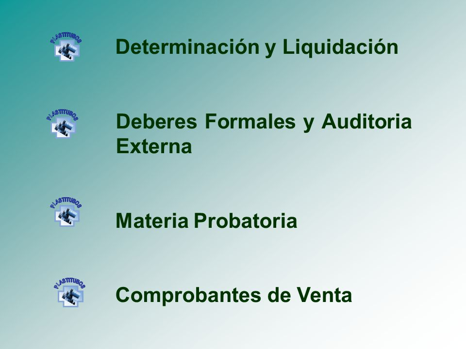 Determinación y Liquidación