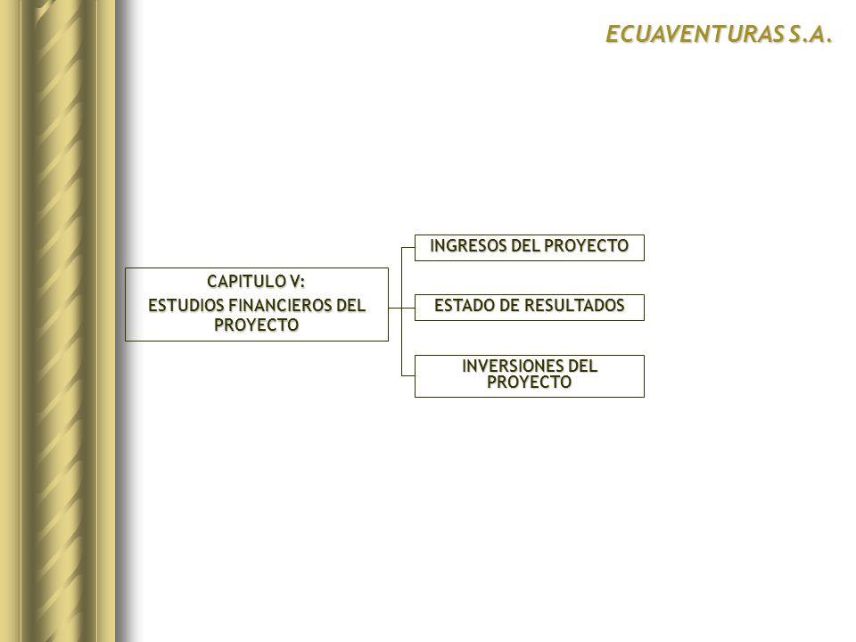 ESTUDIOS FINANCIEROS DEL PROYECTO INVERSIONES DEL PROYECTO
