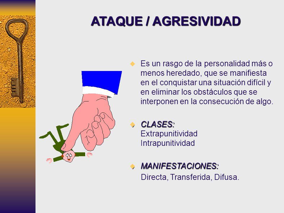 ATAQUE / AGRESIVIDAD