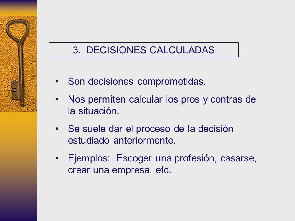 3. DECISIONES CALCULADAS