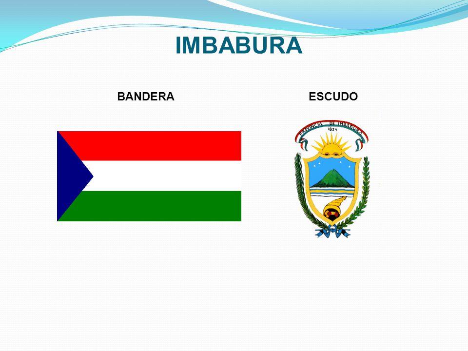 IMBABURA BANDERA ESCUDO