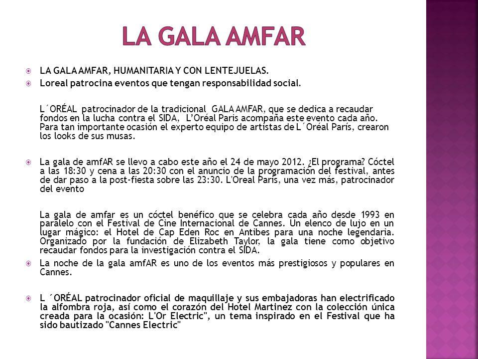 La gala amfar LA GALA AMFAR, HUMANITARIA Y CON LENTEJUELAS.