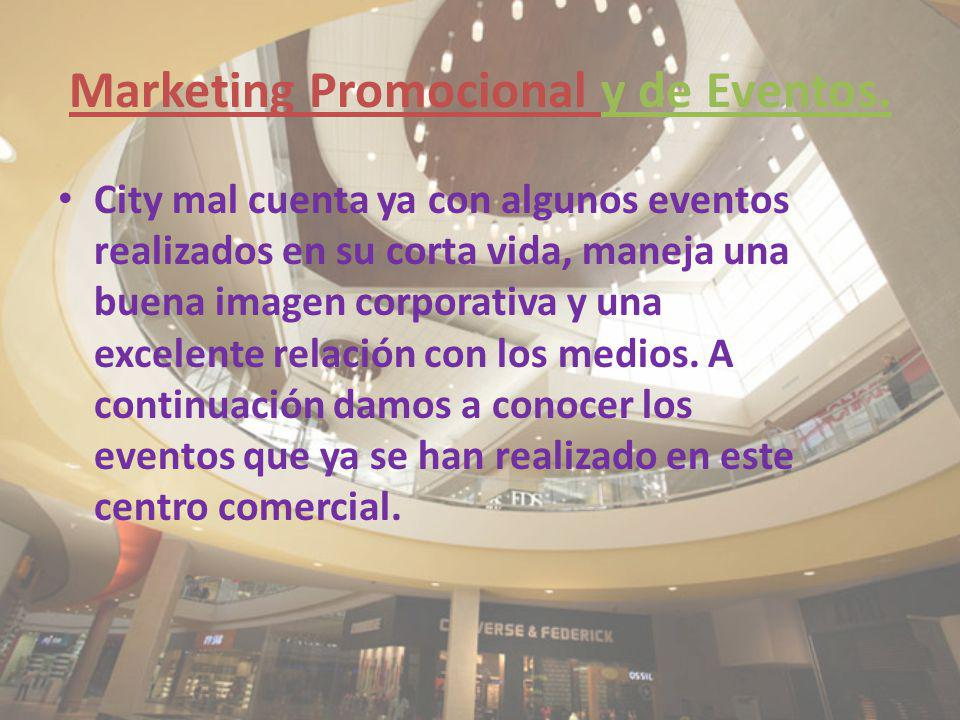 Marketing Promocional y de Eventos.