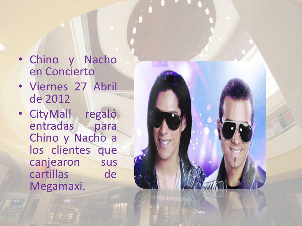 Chino y Nacho en Concierto