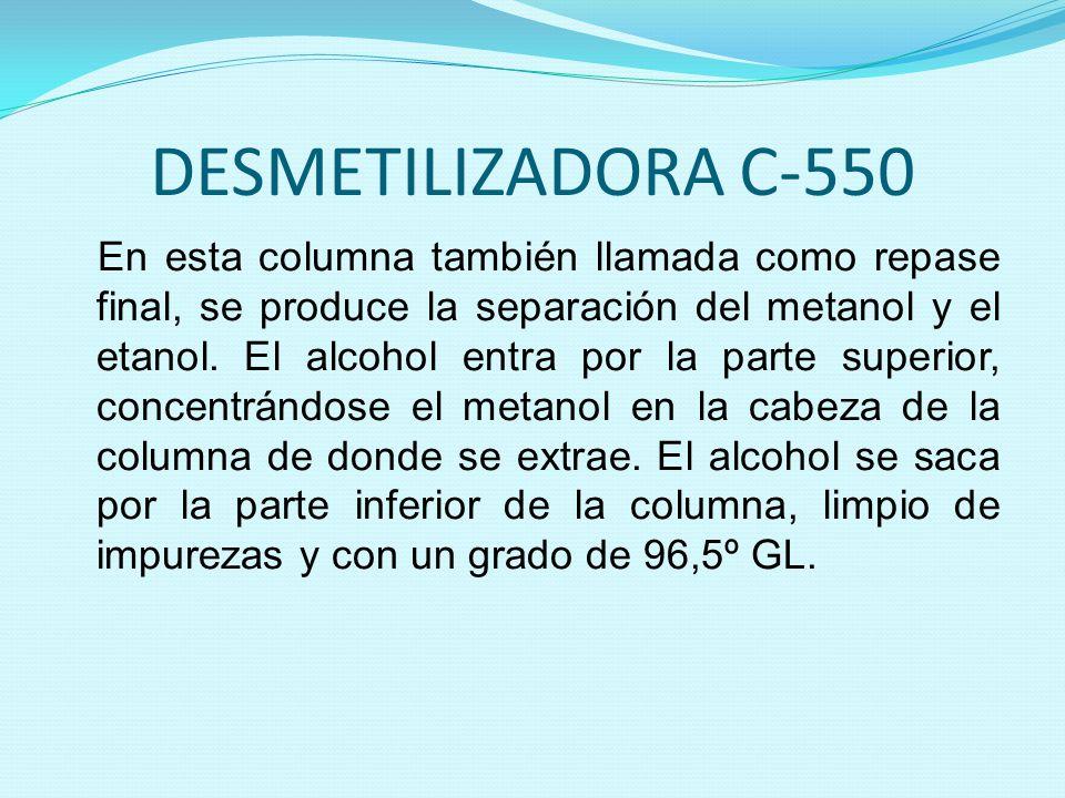 DESMETILIZADORA C-550