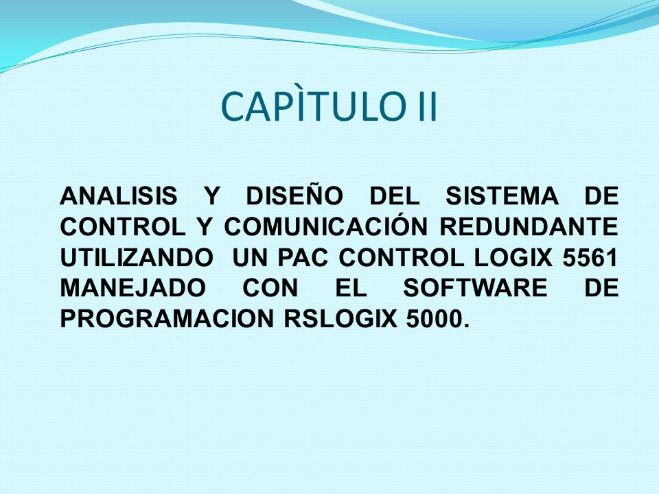 CAPÌTULO II