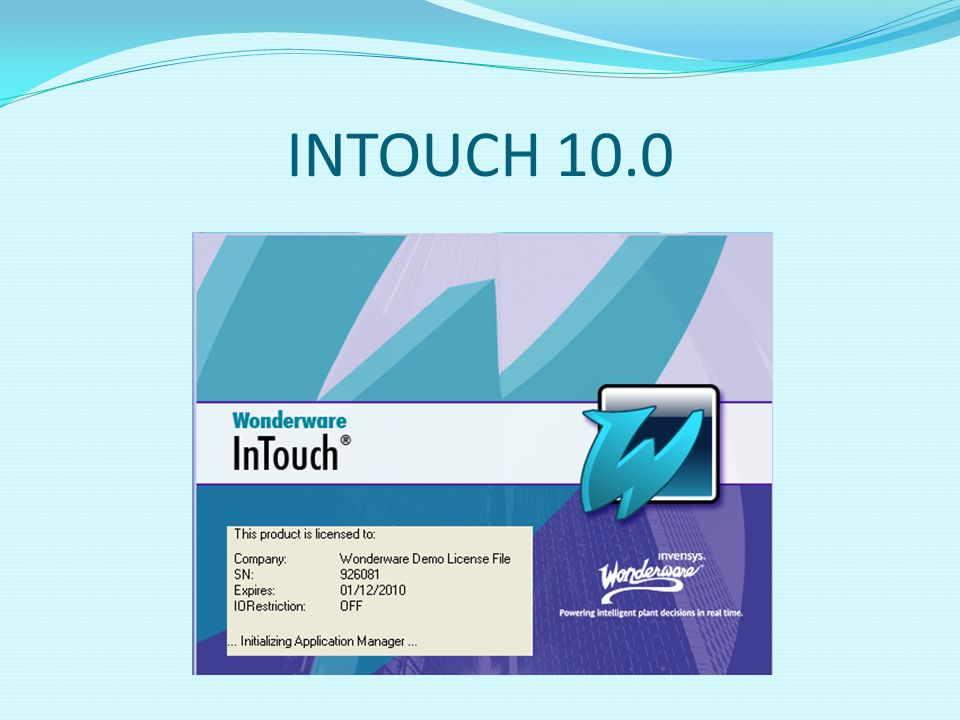 INTOUCH 10.0