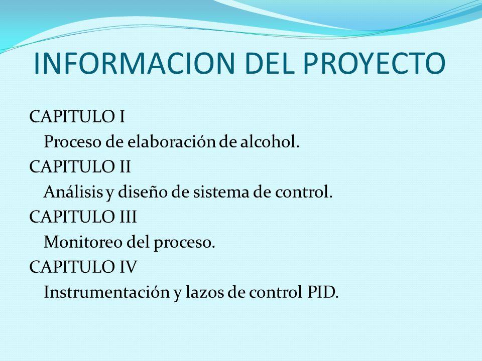 INFORMACION DEL PROYECTO