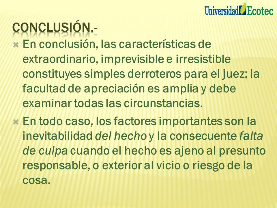 Conclusión.-