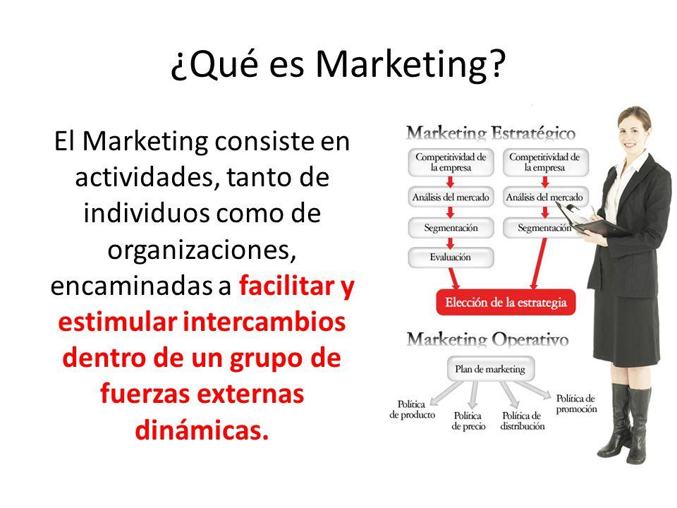 ¿Qué es Marketing