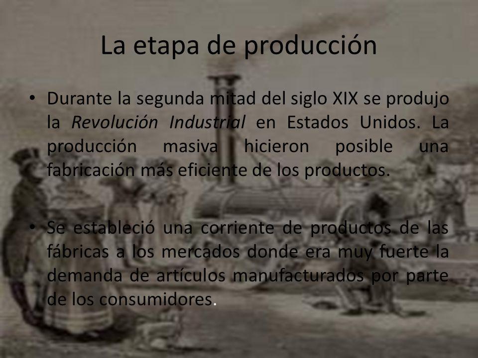 La etapa de producción
