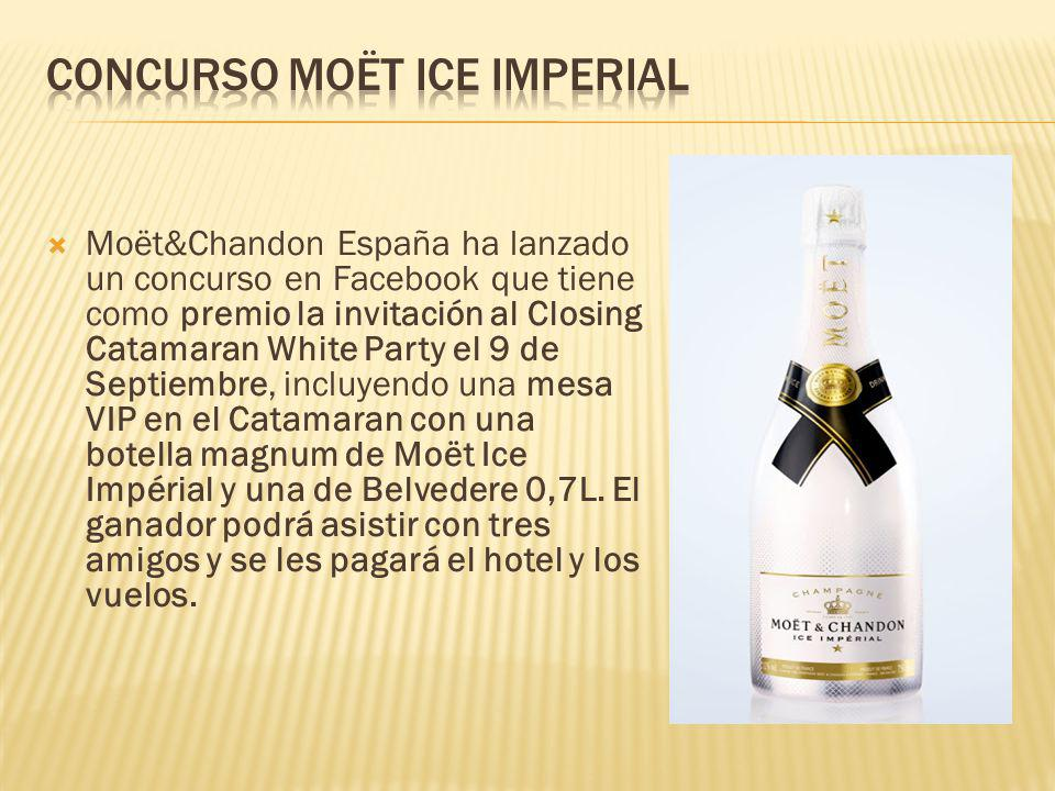 Concurso Moët Ice Imperial