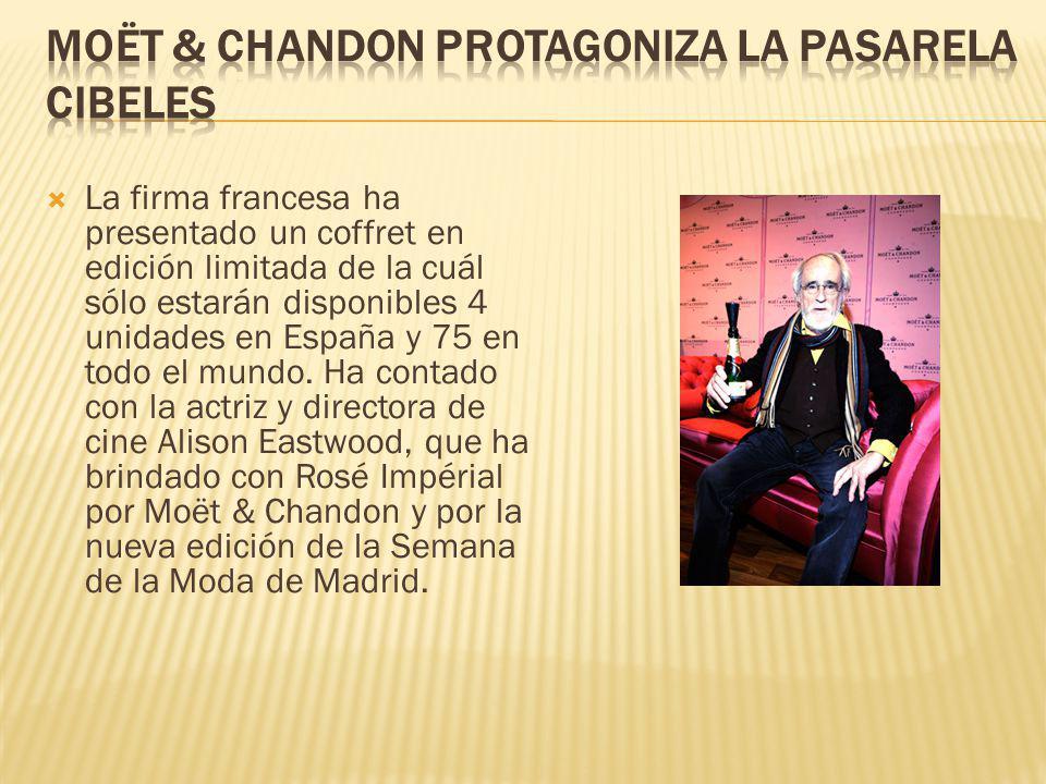 Moët & Chandon protagoniza la Pasarela Cibeles