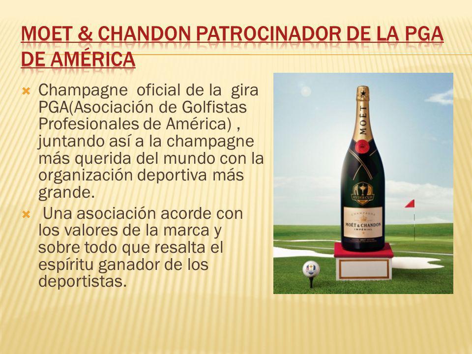 Moet & Chandon patrocinador de la PGA de América