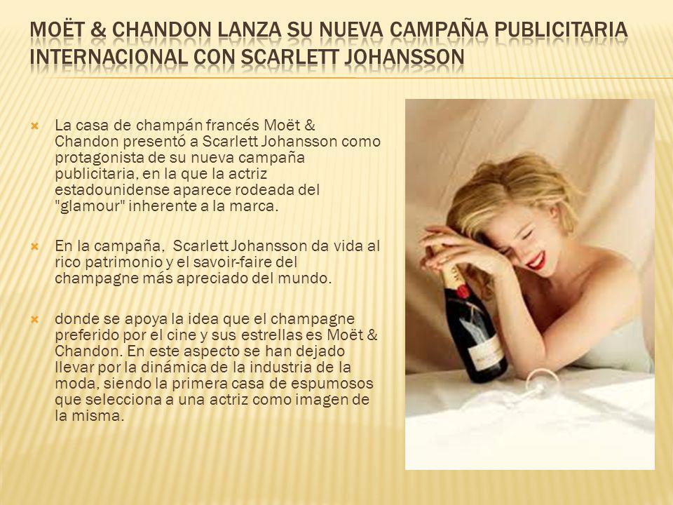Moët & Chandon lanza su nueva campaña publicitaria internacional con Scarlett Johansson