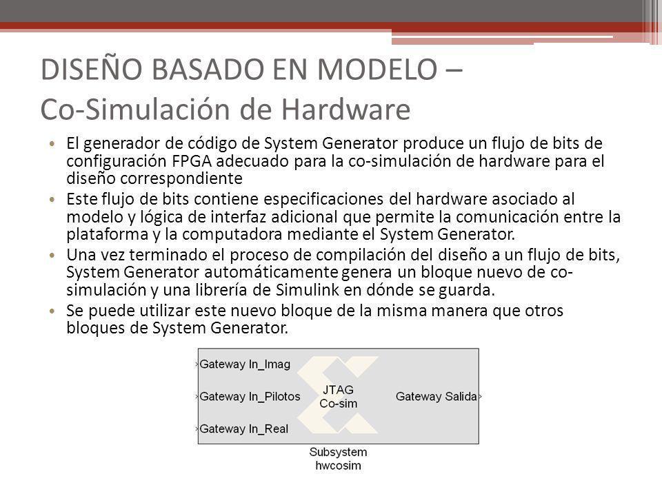 DISEÑO BASADO EN MODELO – Co-Simulación de Hardware