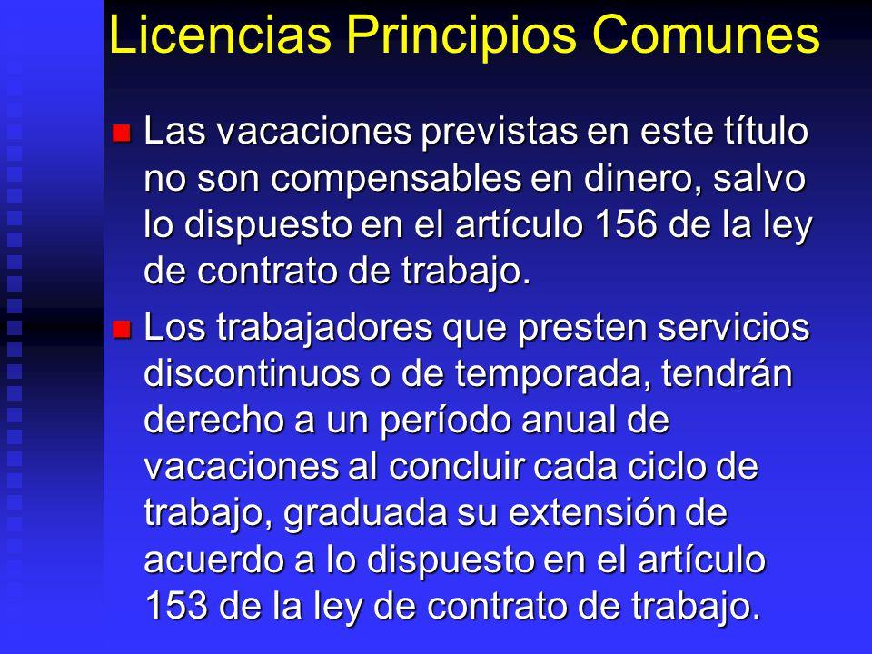 Licencias Principios Comunes
