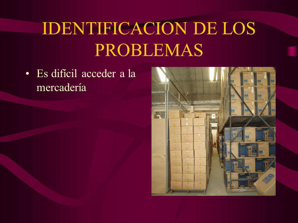 IDENTIFICACION DE LOS PROBLEMAS