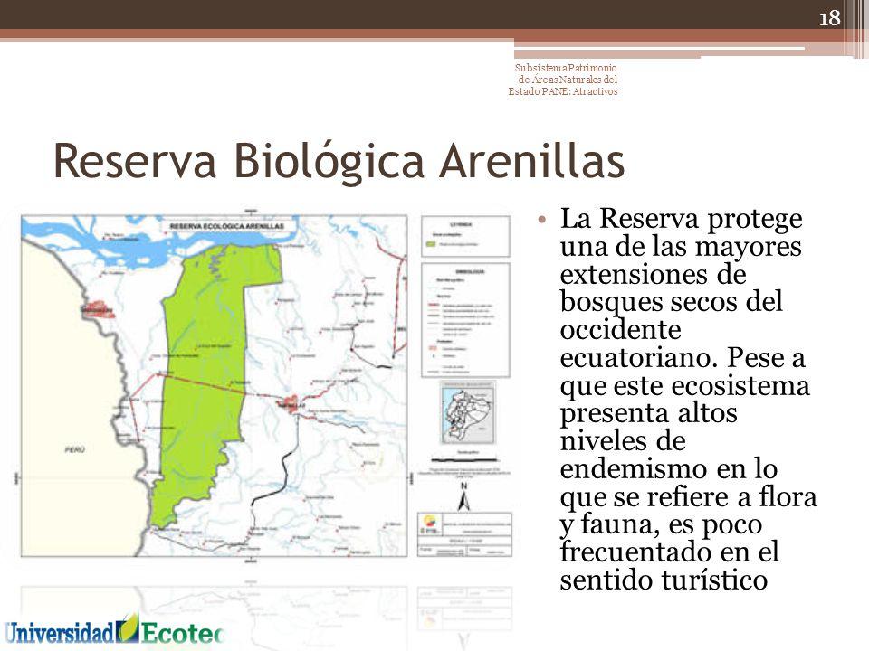 Reserva Biológica Arenillas
