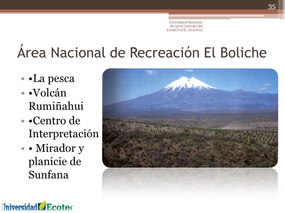 Área Nacional de Recreación El Boliche