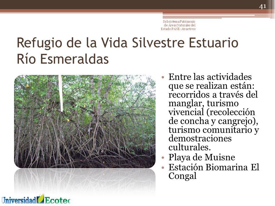 Refugio de la Vida Silvestre Estuario Río Esmeraldas