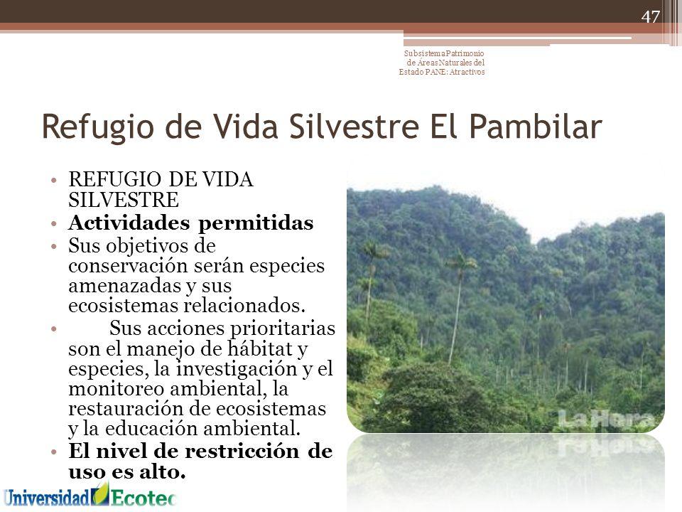 Refugio de Vida Silvestre El Pambilar