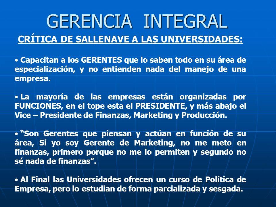 CRÍTICA DE SALLENAVE A LAS UNIVERSIDADES: