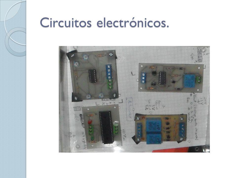 Circuitos electrónicos.