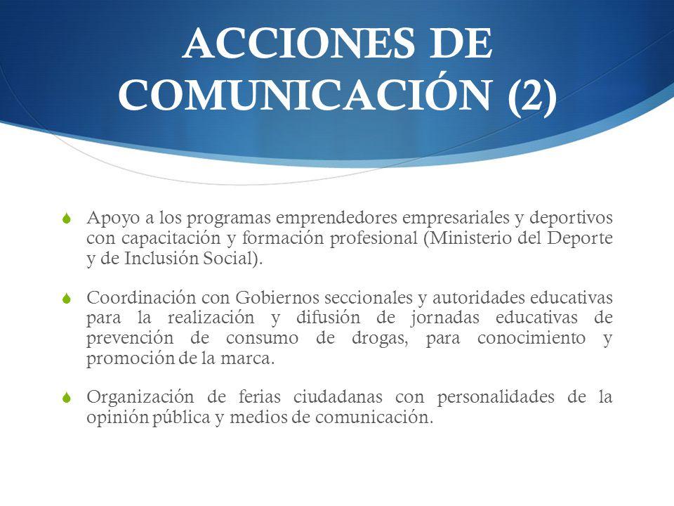 ACCIONES DE COMUNICACIÓN (2)