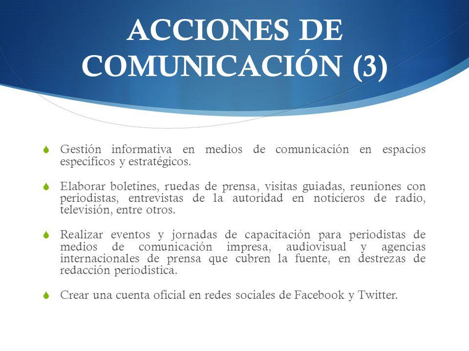 ACCIONES DE COMUNICACIÓN (3)