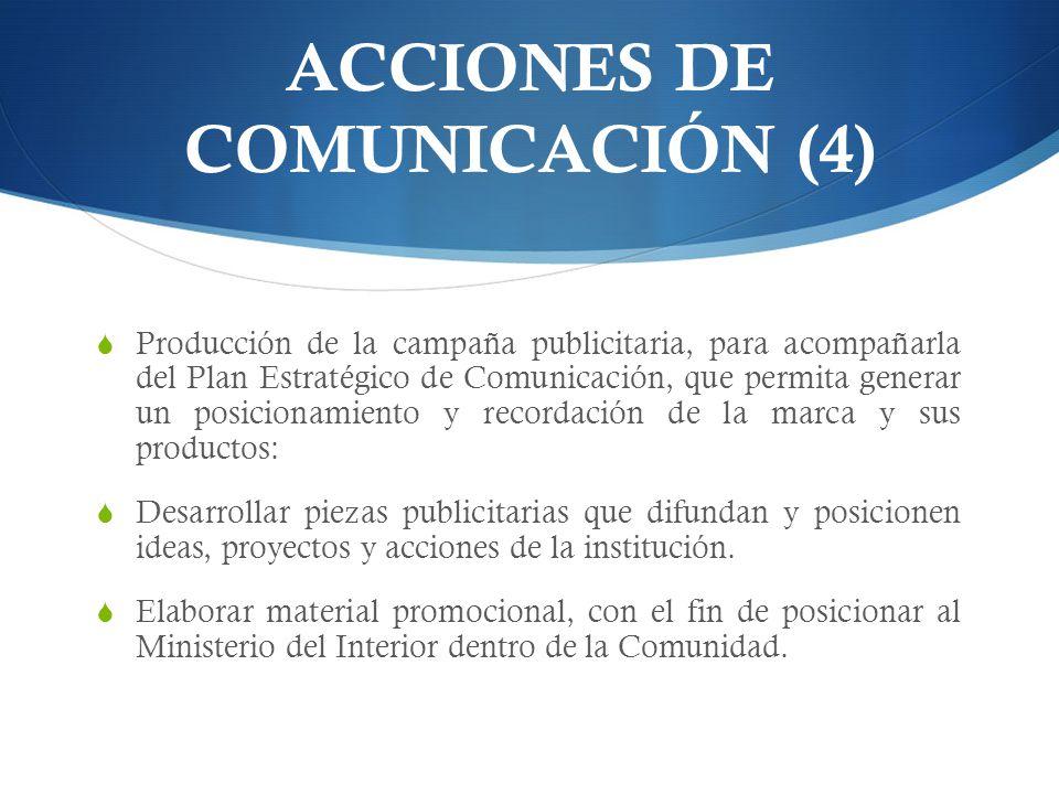 ACCIONES DE COMUNICACIÓN (4)
